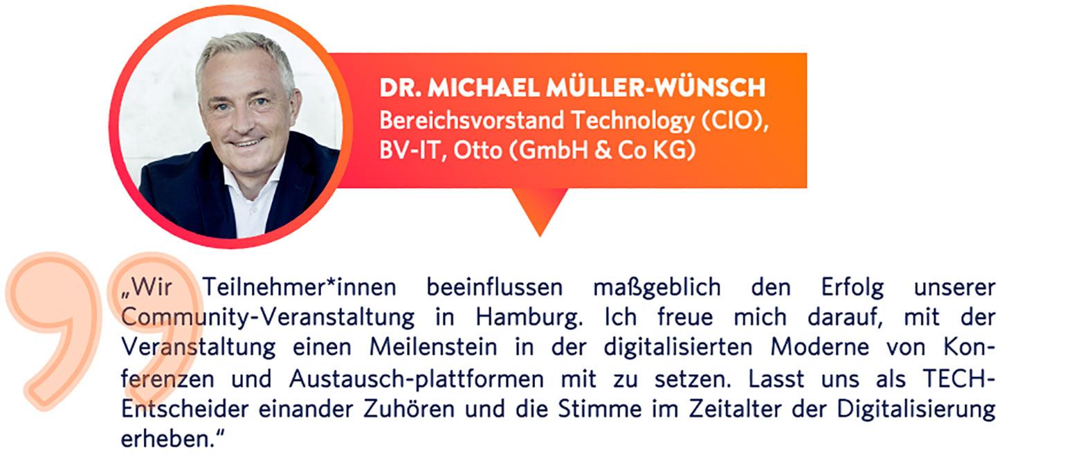 Dr. Michael Müller Wünsch
